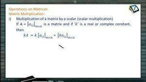 Determinants And Matrices - Matrix Multiplication 1 (Session 2 & 3)