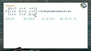 Determinants And Matrices - Problems 3 (Session 5 & 6)
