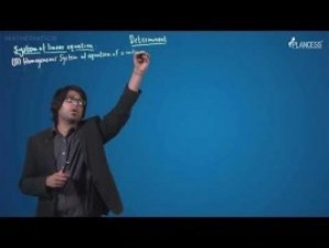 Determinants - System Of Linear Equation-II Video By Plancess