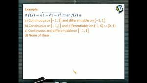 Differentiability - Problems 2 (Session 2)