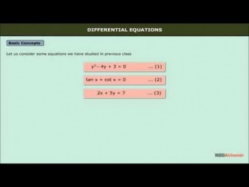 Class 12 Maths - Differential Equations Video by MBD Publishers
