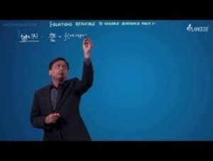 Differential Equations - Equations Reducible To Variable Separable Form-I Video By Plancess