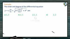 Differential Equations - Examples (Session 1)