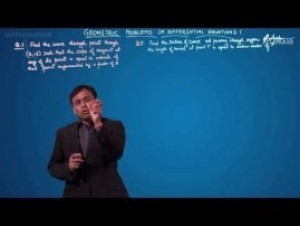 Differential Equations - Geometric Problems On Differential Equations-I Video By Plancess