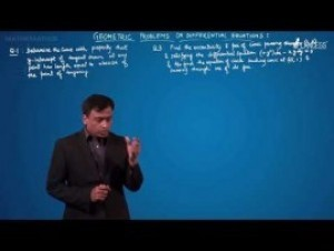 Differential Equations - Geometric Problems On Differential Equations-II Video By Plancess