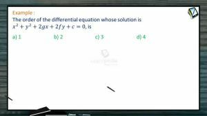 Differential Equations - Problems (Session 1)