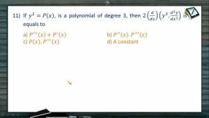 Differentiation - Problems 3 (Session 4)