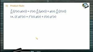 Differentiation - Product Rule (Session 1)