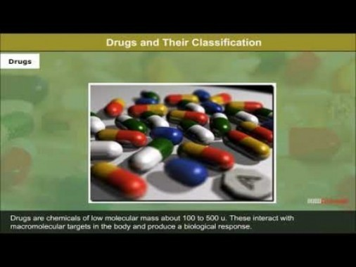 Class 12 Chemistry - Drugs And Their Classification Video by MBD Publishers