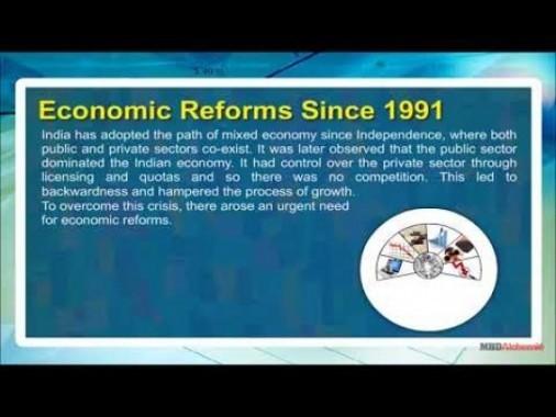 Class 11 Economics - Economic Reforms Since 1991 Video by MBD Publishers