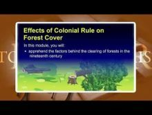 Class 9 History - Effect Of Colonial Rule On Forest Video by MBD Publishers