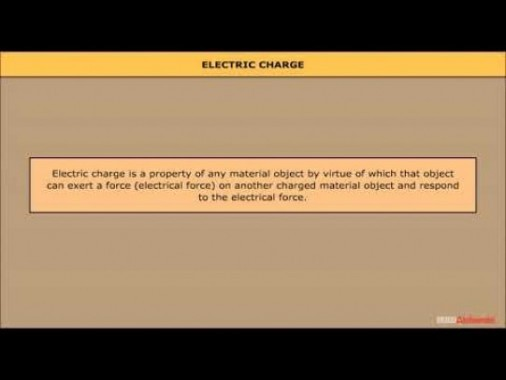 Class 12 Physics - Electric Charges And Its Properties Video by MBD Publishers