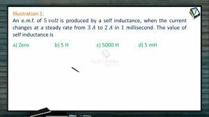 Electro Magnetic Induction - Illustrations (Session 4)