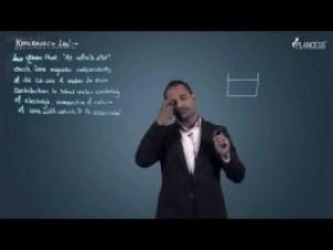 Electrochemistry - Kohlrausch Law Video By Plancess