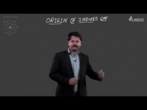 Electromagnetic Induction - Origin Of Induced EMF-II Video By Plancess