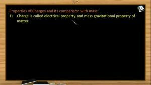 Electrostatics - Charge And Mass Comparison (Session 1)