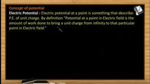 Electrostatics - Electric Potential And Equipotential Surfaces (Session 10 & 11)