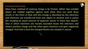 Electrostatics - Frictional Electricity And Induction (Session 1)