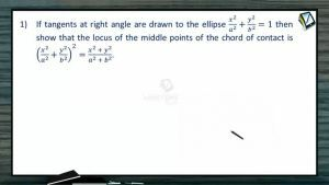 Ellipse - Class Exercise (Session 6)