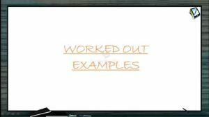 Ellipse - Worked Out Examples (Session 1)