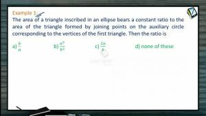 Ellipse - Worked Out Examples (Session 2)