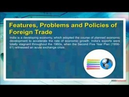 Class 11 Economics - Features - Problems And Policies Of Foreign Trade Video by MBD Publishers
