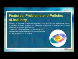 Class 11 Economics - Features - Problems And Policies Of Industry Video by MBD Publishers