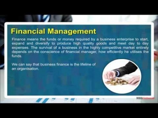 Class 12 Business - Financial Management Video by MBD Publishers