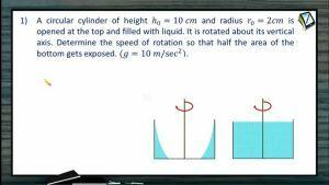 Fluids - Class Exercise (Session 4 & 5)