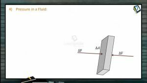 Fluids - Pressure In A Fluid (Session 1)
