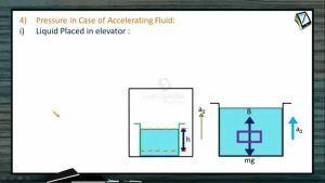 Fluids - Pressure In Case Of Accelerating Fluid (Session 2 & 3)