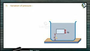 Fluids - Variation Of Pressure (Session 1)