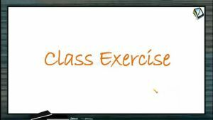 Friction - Class Exercise (Session 3)