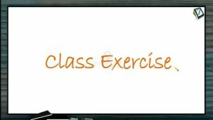 Friction - Class Exercise (Session 4)