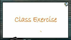 Friction - Class Exercise (Session 6)