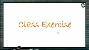 Friction - Class Exercise (Session 7 & 8)