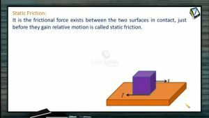 Friction - Static Friction (Session 1)