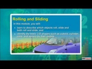 Grade II Maths - Rolling And Sliding Video by MBD Publishers