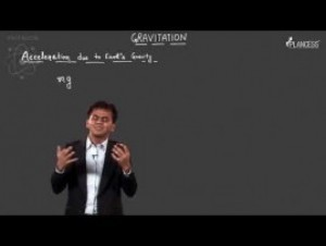 Gravitation - Acceleration Due To Gravity Video By Plancess