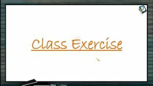 Gravitation - Class Exercise (Session 3)