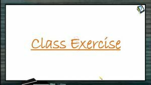 Gravitation - Class Exercise (Session 4)