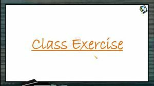 Gravitation - Class Exercise (Session 5)