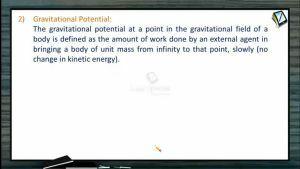 Gravitation - Gravitational Potential (Session 2)