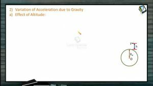 Gravitation - Variation Of Acceleration Due To Gravity (Session 5)