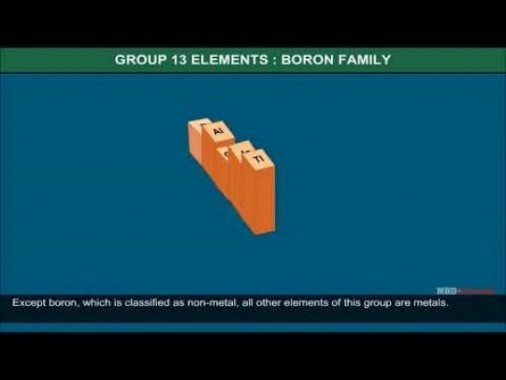 Class 11 Chemistry - Group 13 Elements And Their Characteristics Video by MBD Publishers