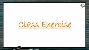 Human Health And Diseases - Class Exercise (Session 1)