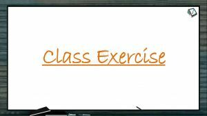 Human Health And Diseases - Class Exercise (Session 3)