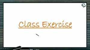 Human Health And Diseases - Class Exercise (Session 5)