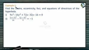 Hyperbola - Examples (Session 1 & 2)