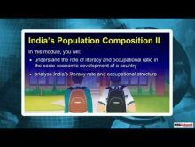 Class 9 Geography - Indias Population Composition-II Video by MBD Publishers